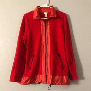 Zenergy Chicos Red Zip Up Lightweight Jacket 2